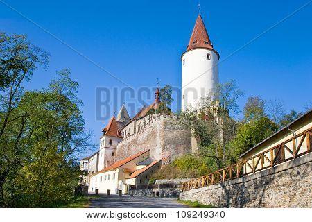 Gothic Castle Krivoklat, Czech Republic