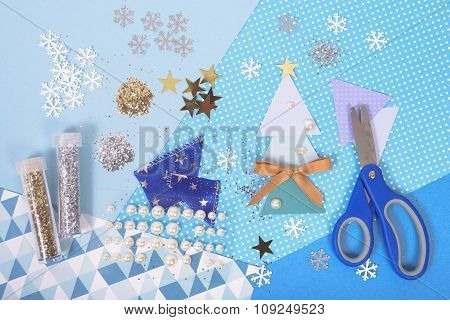 Bright And Shiny Accessories For Christmas Craft And Scrapbooking