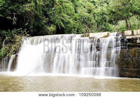 Sri Dit Waterfall In Khao Kho National Park