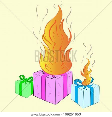 The burning gifts