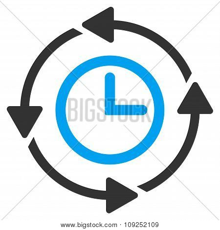 Wayback Clock Icon