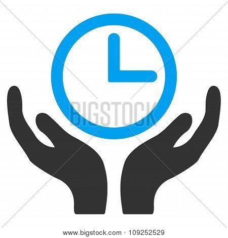 Clock Maintenance Icon