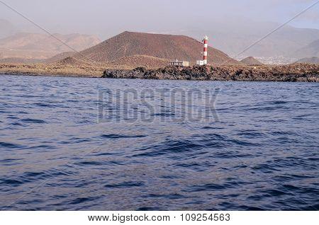 High Lighthouse near the Coast