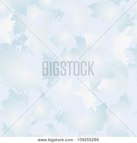 Seamless Blue Winter Background. Stock Vector