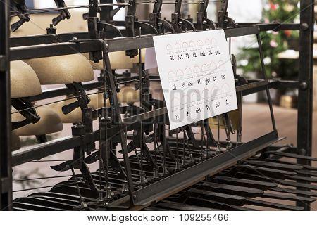 Original Carillon Is A Set Of Small Cymbals