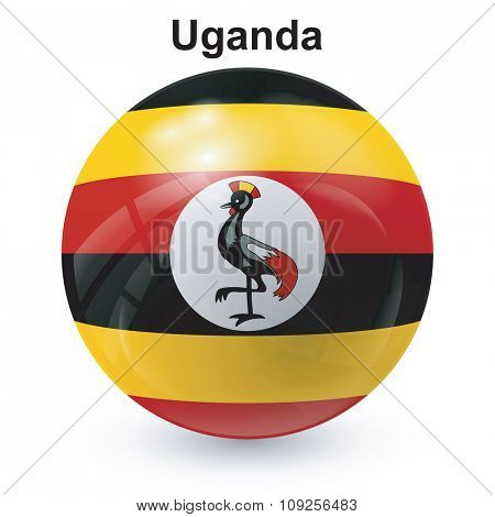 State flag of Uganda