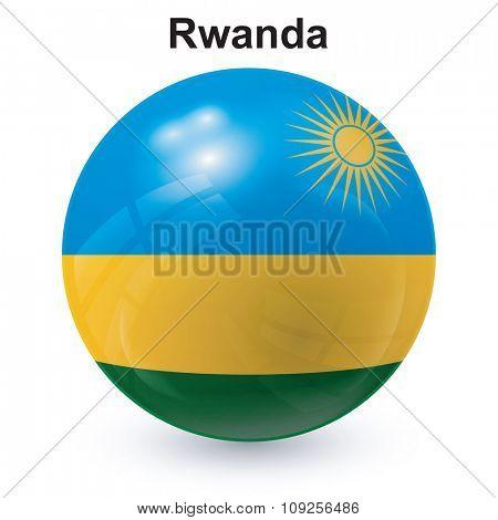 State flag of Rwanda
