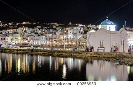 Chora Port, Mykonos, Greece