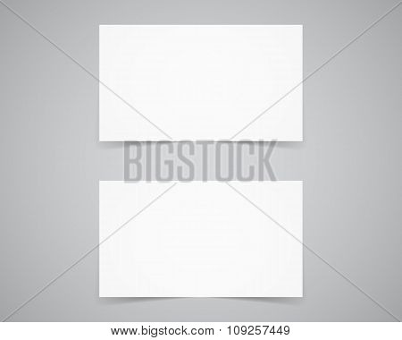 Corporate identity, business card template. Branding letterhead. Business identity kit. Paper editio
