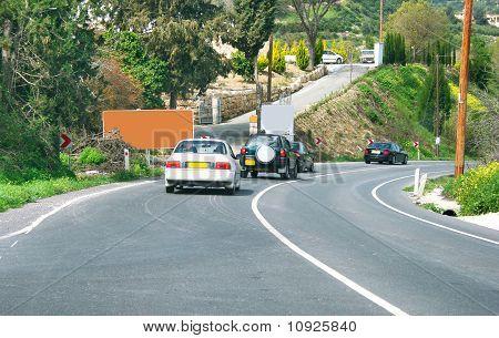 Road In Cyprus.