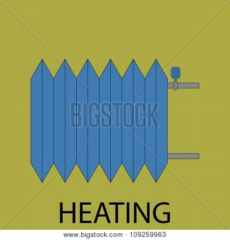 Heating battery icon