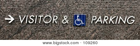 Visitor And Handicap Parking