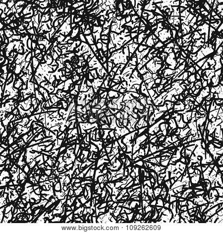 Dust seamless pattern.