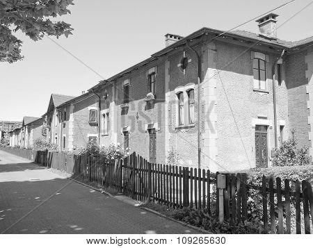 Black And White Villaggio Leumann