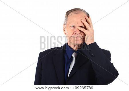 stressfull man