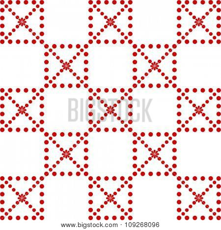 Background of dots pattern
