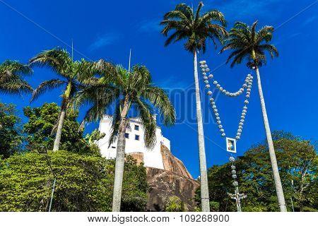Penha Convent in Vitoria, Espirito Santo, Brazil