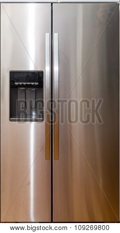 Side By Side Stainless Fridge