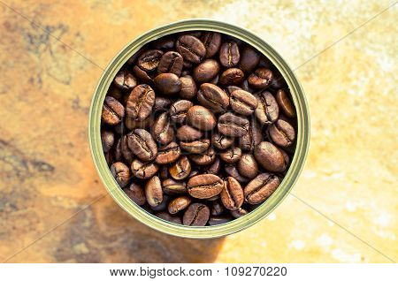 Coffee Beans In The Pot