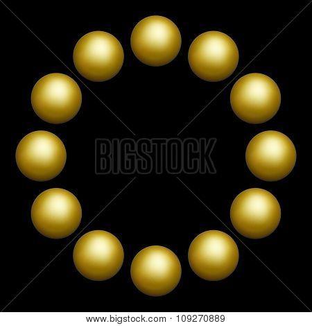 twelve balls