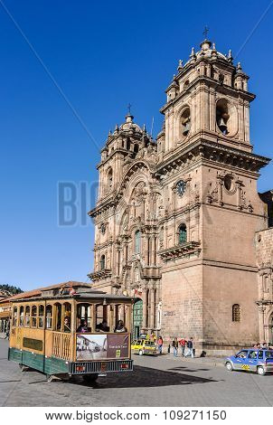 Jesuit Church In Cusco, Peru