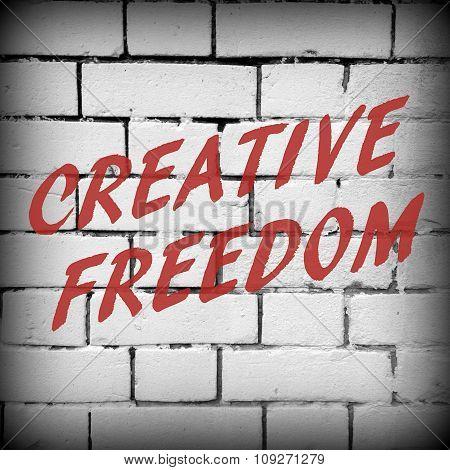 Creative Freedom Graffiti