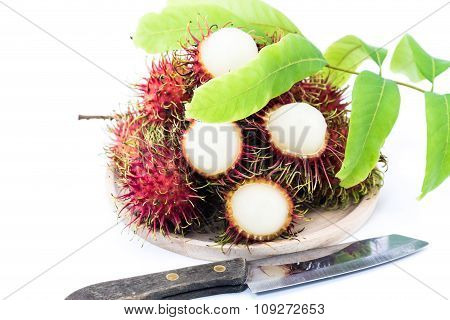 Asian Fruit Rambutan  Or  Negrito