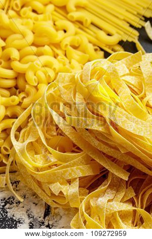 Raw Homemade Italian Pasta