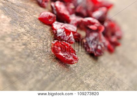 Close On Dried Cranberry