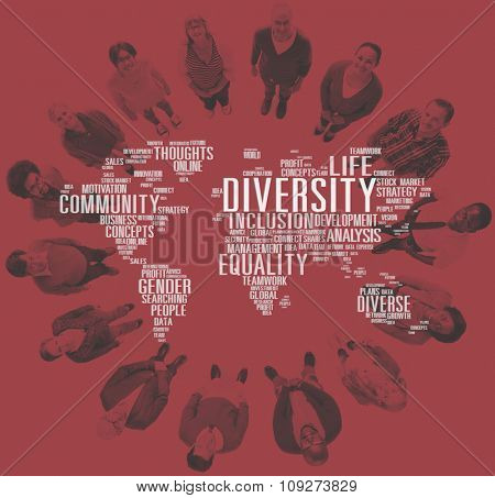 Diverse Equality Gender Innovation Management Concept