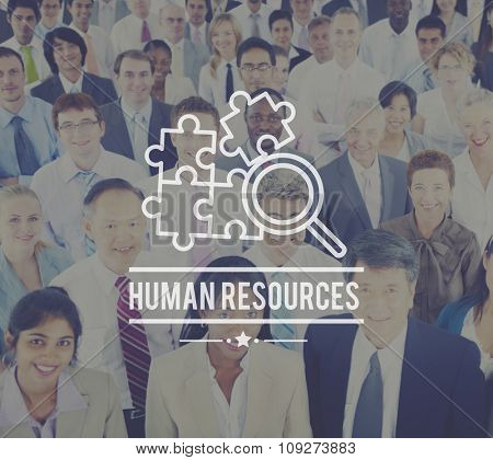 Human Resources Hiring Employment Contact Concept