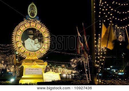 Bangkok During Royal Birthday Celebration