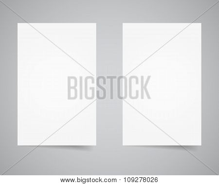 Corporate identity, flyer and poster template. Branding letterhead. Business identity kit. Paper edi