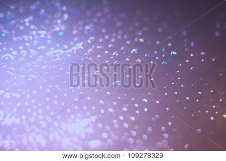 Abstract bubbles closeup bokeh blur