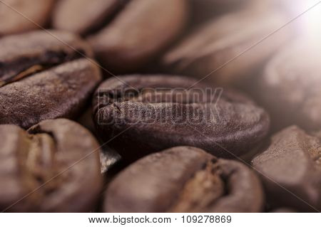 brown coffee closeup background