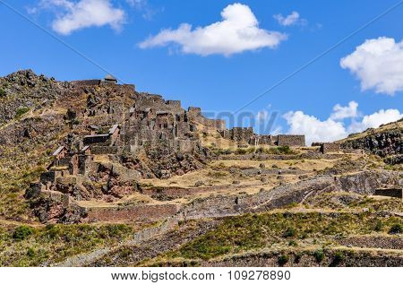 Ruins Of Pisac, Sacred Valley, Peru