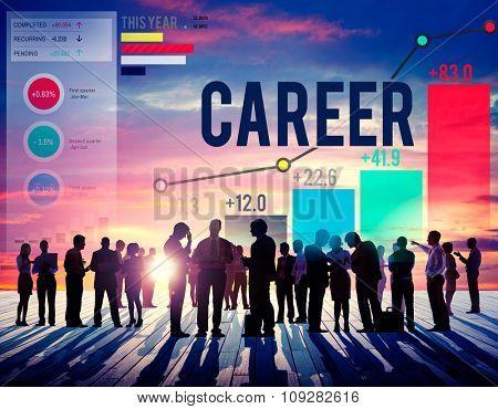Career Employment Job Recruitment Occupation Concept