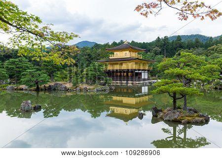 The Golden Pavilion in Kyoto - Japan