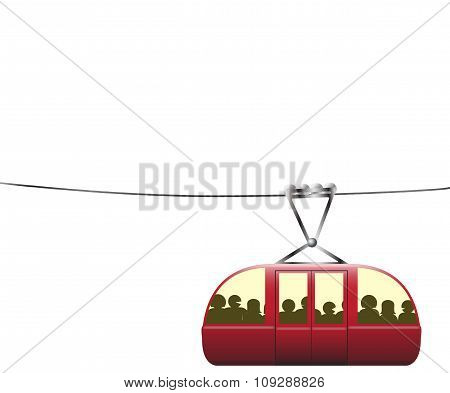 Crowded Cable Car