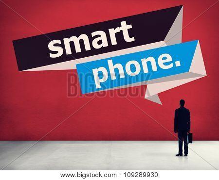 Smart Phone Digital Technology Telecommunication Concept