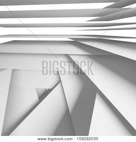 Abstract Square Digital Background 3 D Art