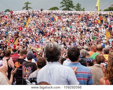 Freedom Concert Crowd