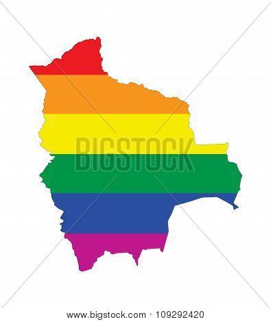 Bolivia Gay Map