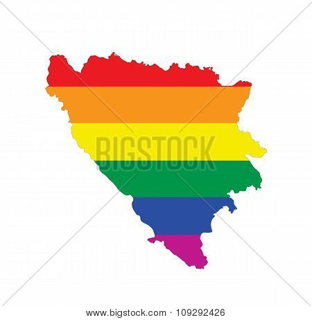 Bosnia Gay Map
