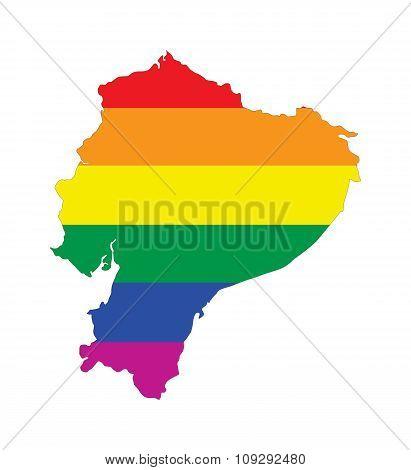 Ecuador Gay Map