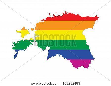 Estonia Gay Map