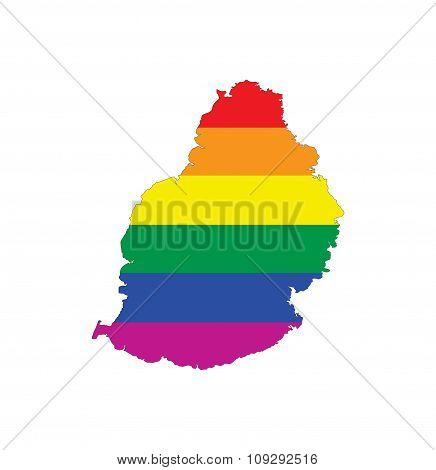 Mauritius Gay Map