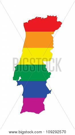 Portugal Gay Map