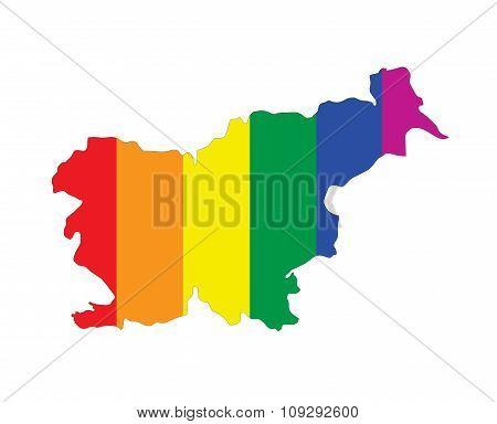 Slovenia Gay Map