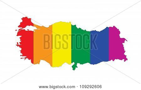 Turkey Gay Map
